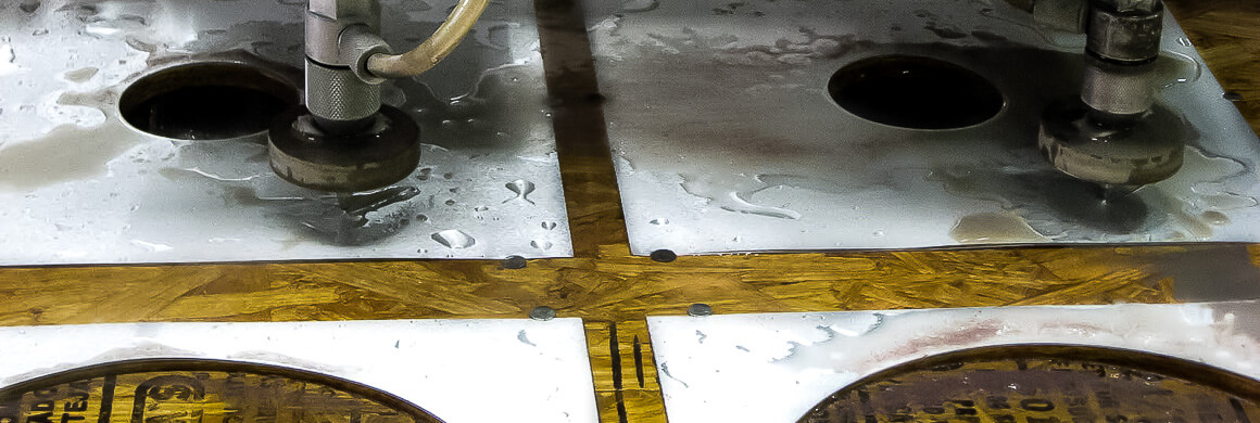 Water Jet Cutting for OEM Parts
